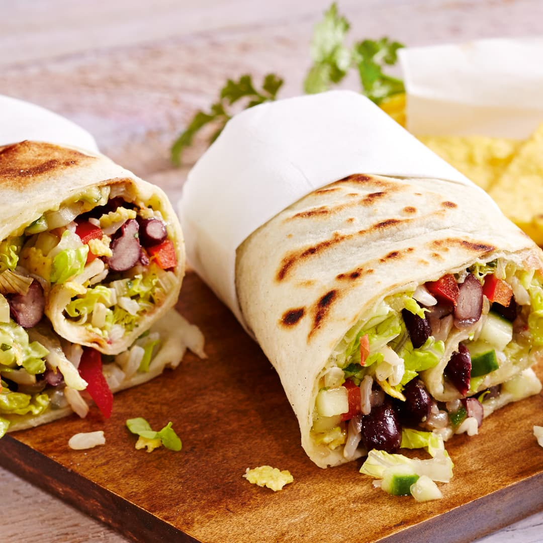 Wraps Rezepte Vegetarisch Wraps Mexico City