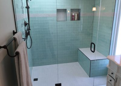 Glass Tile Bathroom Designs Emiliesbeautycom