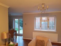 Plantation Shutters for Living Room Window and French ...
