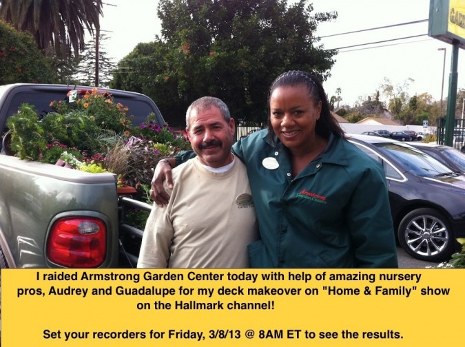 Armstrong Nursery pros from the Sherman Oaks store in California
