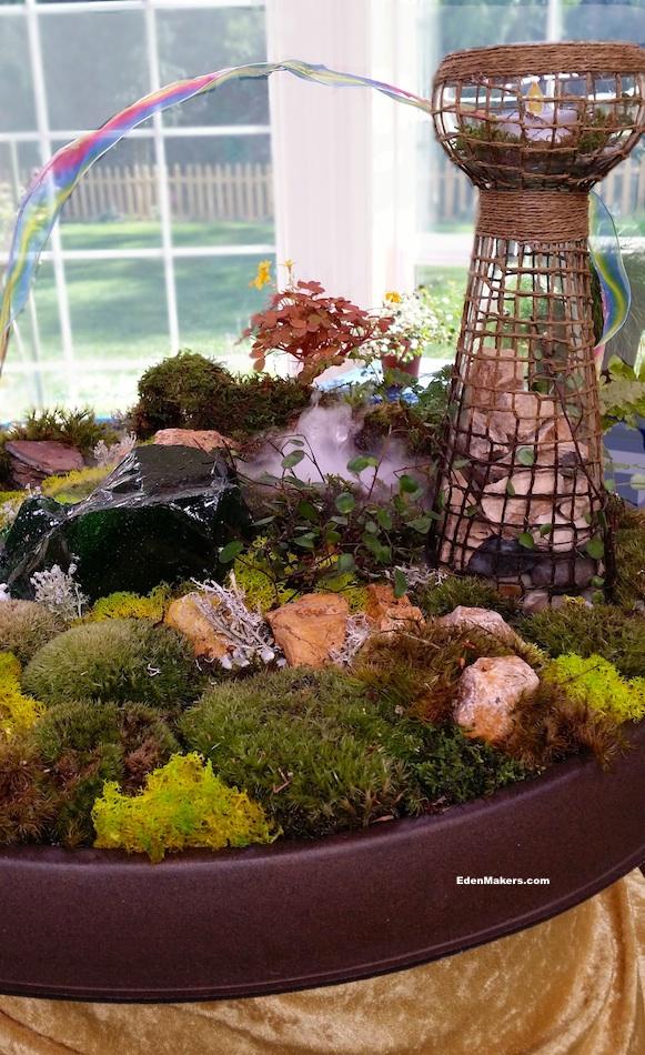 miniature-garden-stones-and-moss-plants-