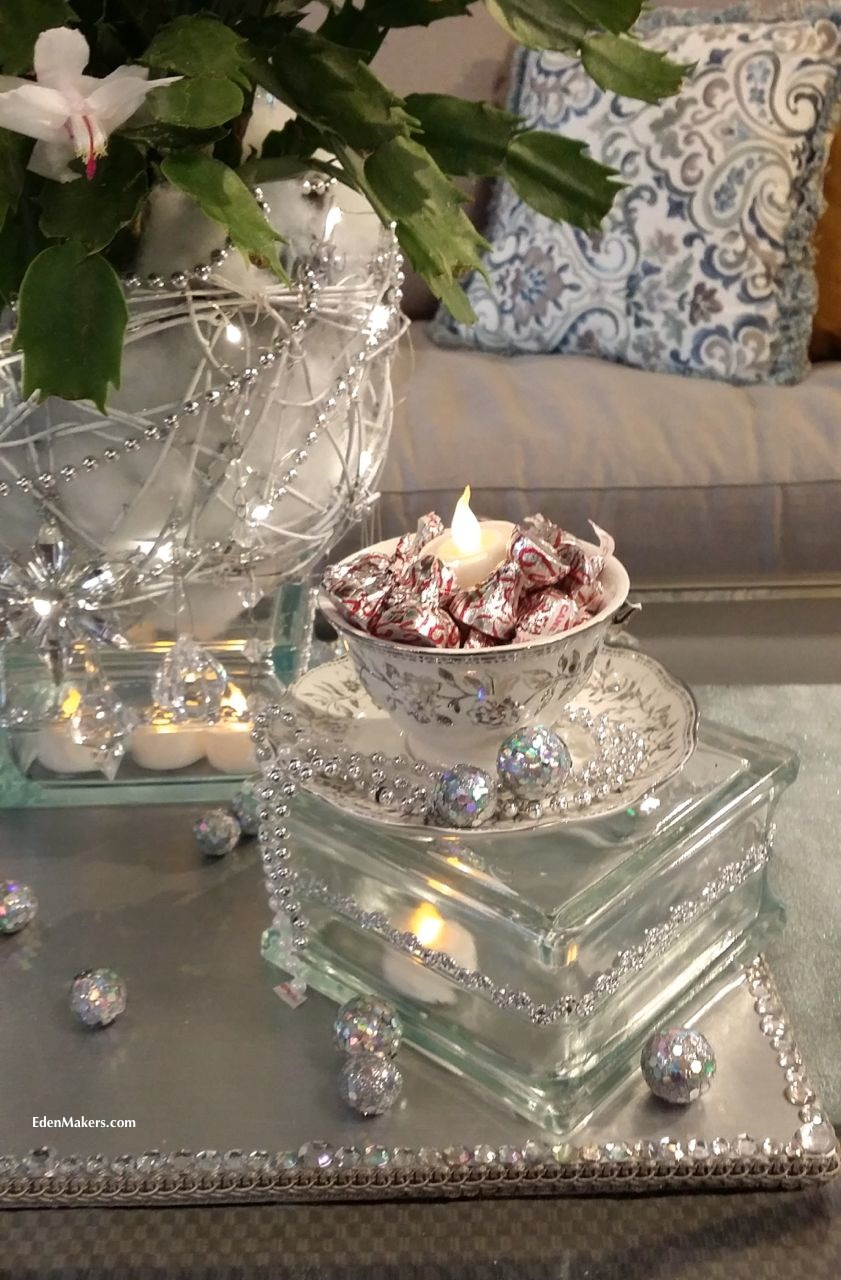tea-cup-chocolates-christmas-centerpiece-shirley-bovshow-home-and-family-show-holiday-special-hallmark-channel-closeup-crystal-silver-glass