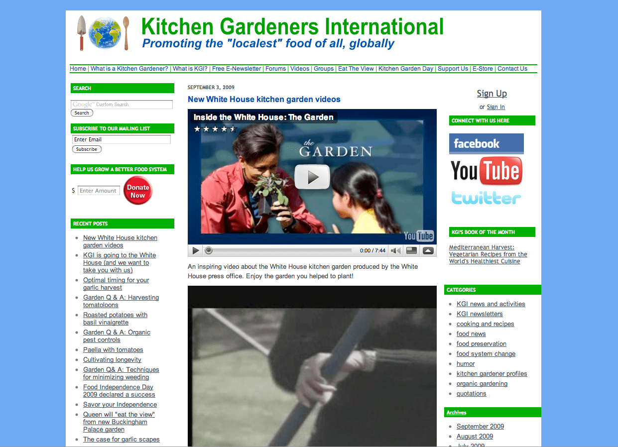 Kitchen Gardener Magazine Informative Edible Gardening Websites Eden Makers Blog By