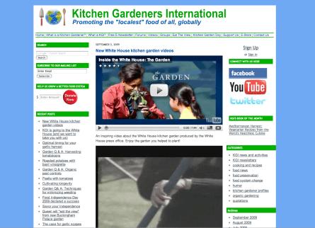 KitchenGardening.org