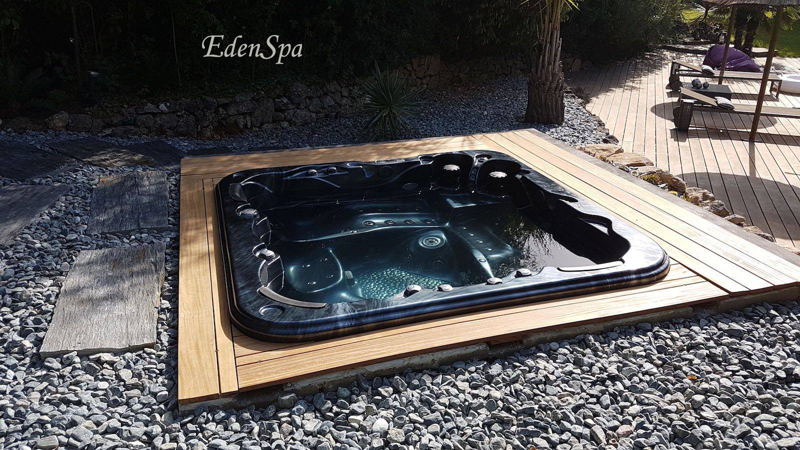 Photo Jacuzzi Extérieur Simple Spa Exterieur With Photo Spa Exterieur