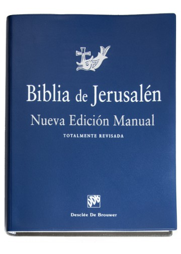 Descargar Libros En Ebook Biblia De Jerusalén Manual 4ª Edición - Modelo | Desclée