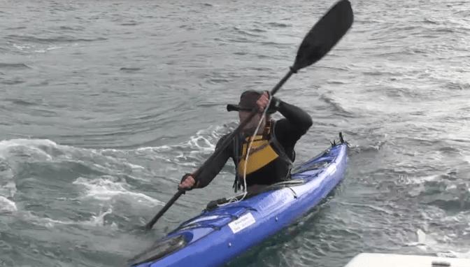 Sea Kayaking for Adventurethon 2013