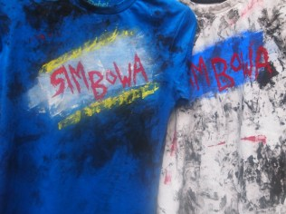 The two remaining kid-sized Pre-Dirtified T-Shirts