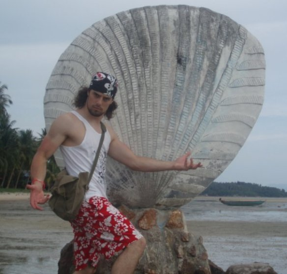 With a Shell in Thailand