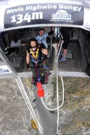 New Zealand's Highest Bungee Jump