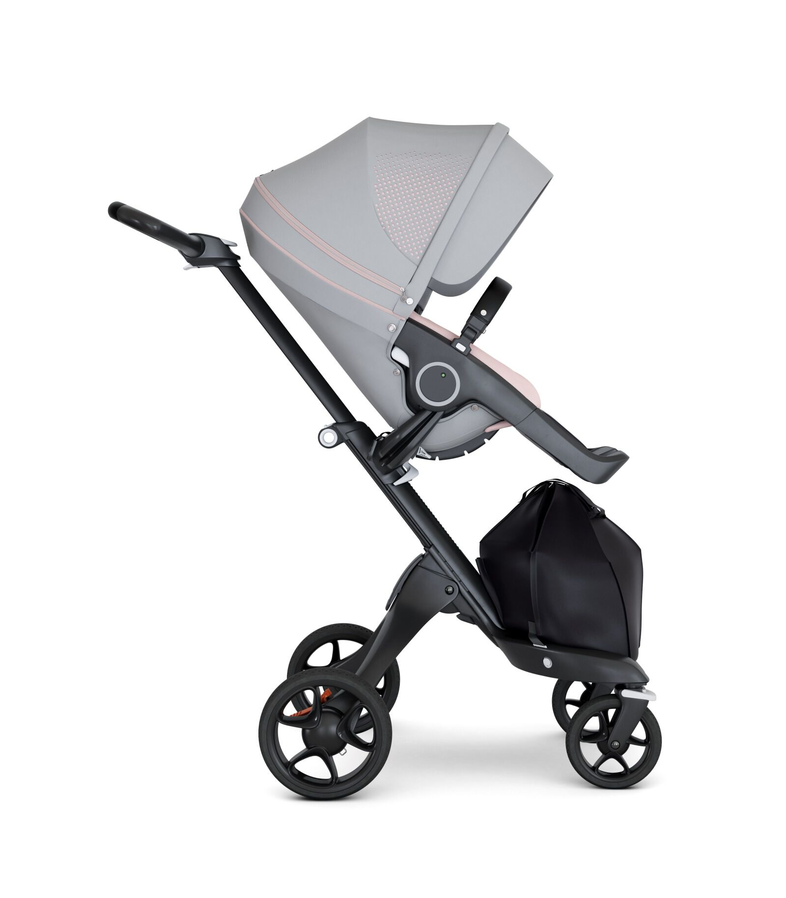 Stokke Stroller Weight Stokke Xplory 6 Black Chassis Black Handle Athleisure Pink