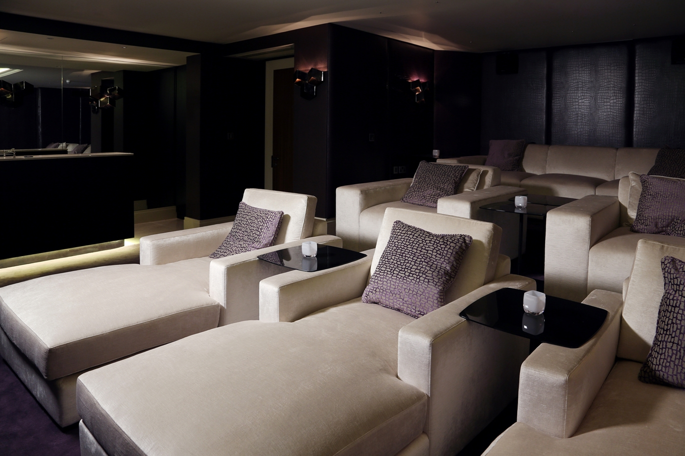 Theatre Room Furniture Cinema Room The Sofa And Chair Company