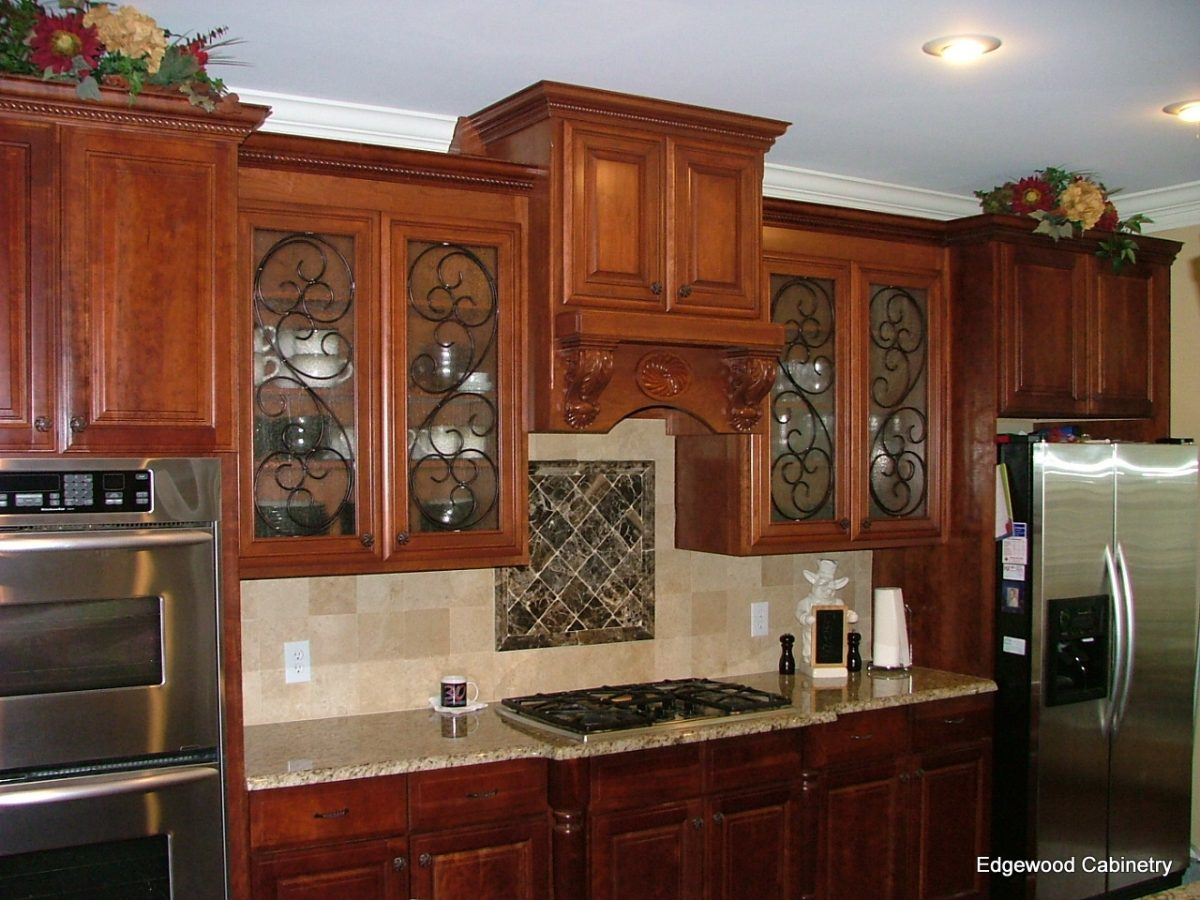 Inserts for kitchen cabinet doors -  Doors Cabinets Glass Inserts Modern Kitchen Second Download