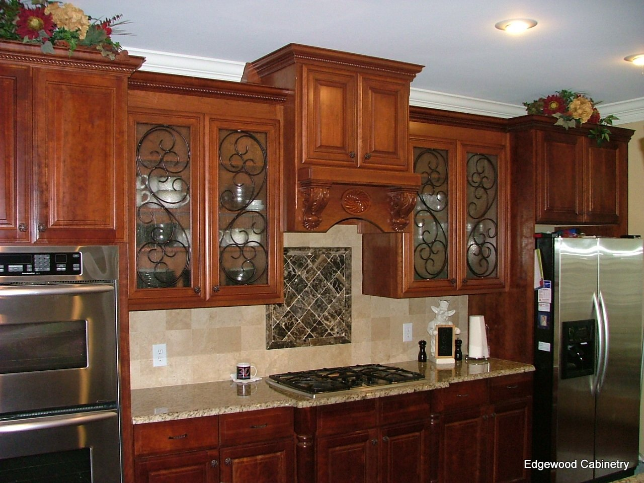 Kitchen Cabinet Textured Glass How Glass Front Cabinets Can Enhance Your Kitchen