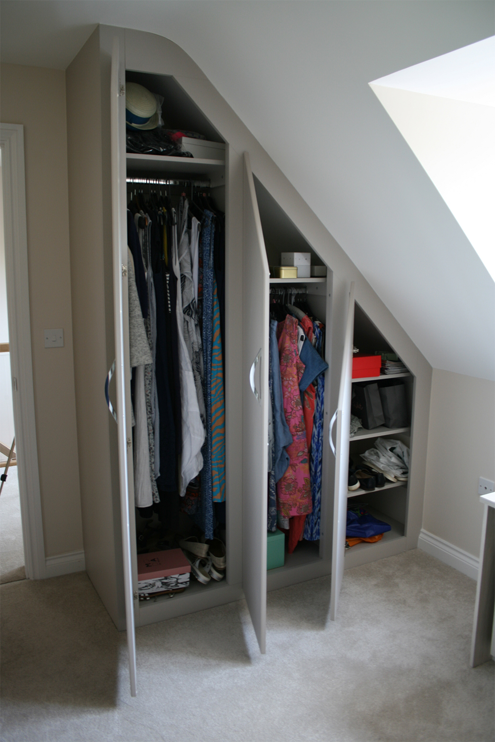 Bathroom Storage Furniture Fitted Furniture For Loft Conversions And Angled Ceilings