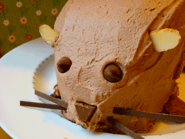 Groundhog Day Cake – Edible Crafts