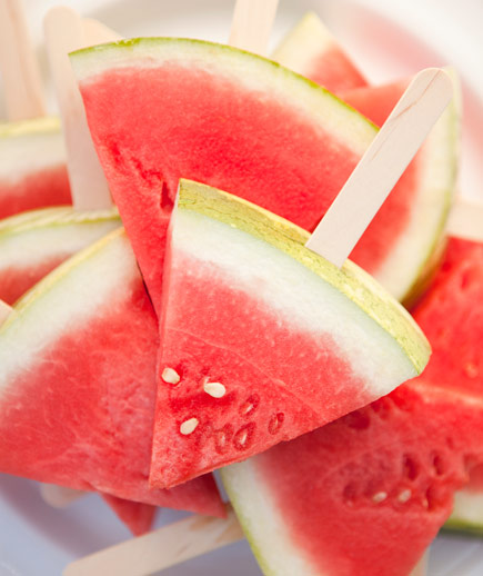 Easy Watermelon Pops – Edible Crafts