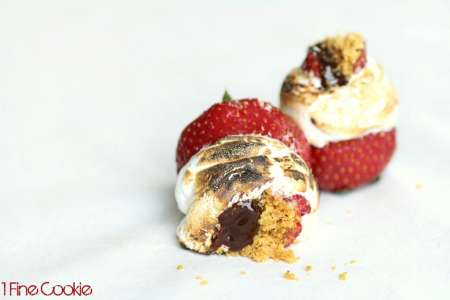 Smore-strawberries