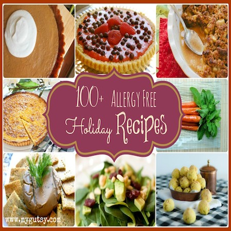 Allergy Free Holiday Recipes