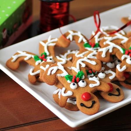 Reindeer Gingerbread Cookies