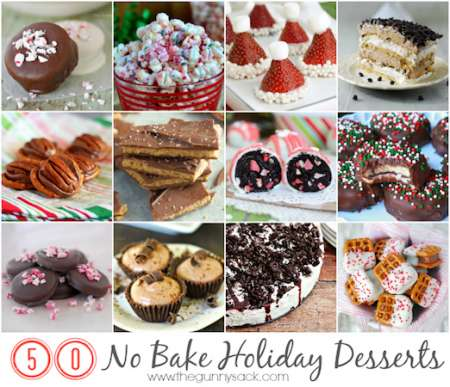 no bake holiday desserts