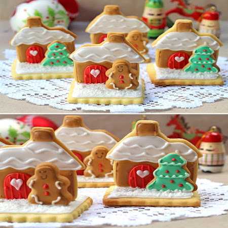 stand up gingerbread house