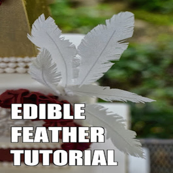 Edible Feather Tutorial