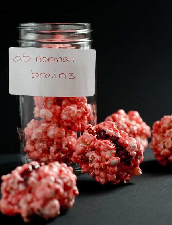 Brainy Popcorn Balls - Seeded at the Table