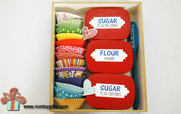 Diy baking kit gift edible crafts for Homemade baking gifts for christmas
