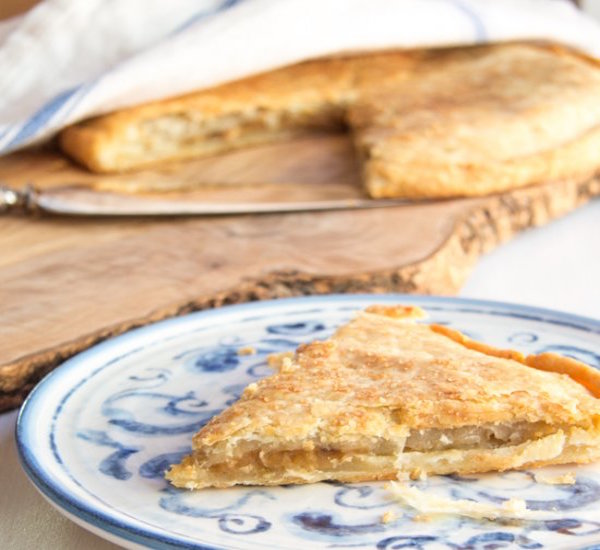 Double Crusted Apple Pie Galette – Edible Crafts