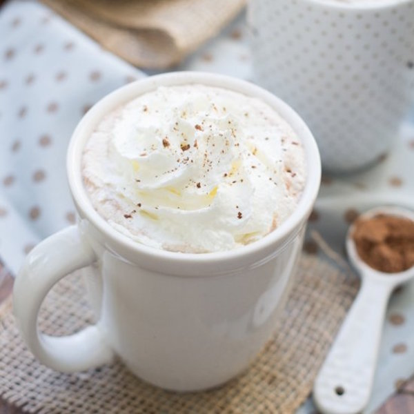3 ingredient microwave hot cocoa