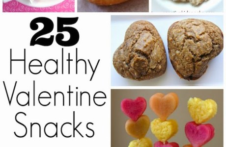 25 Healthy Valentine  Snacks