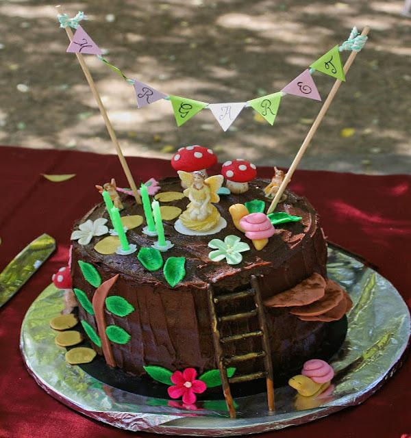 Edible Cake Decorations Fairies : Fairy Cake   Edible Crafts