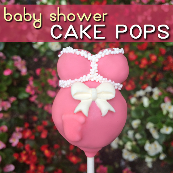 Images Of Baby Shower Cake Pops : Baby Shower Cake Pop   Edible Crafts