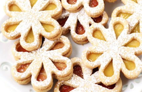 Daisy Linzer Cookies