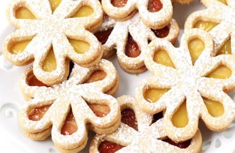 Daisy Linzer Cookies