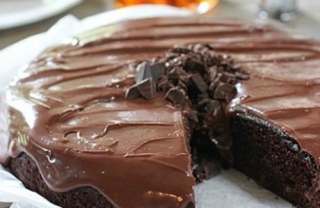 Double Chocolate Whiskey Cake with Whiskey Ganache