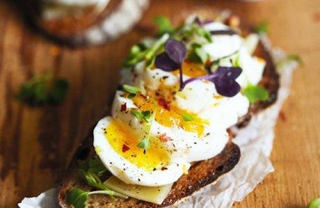 Easy Eggs on Toast