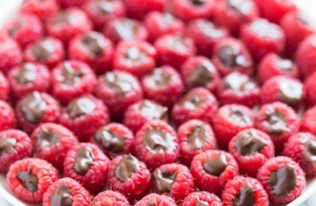 Chocolate Truffle Raspberries