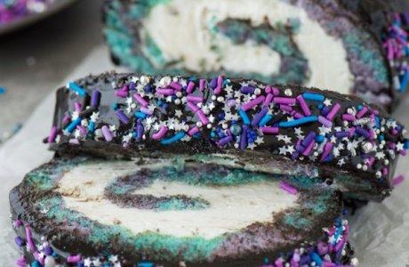 Galaxy Cake Roll