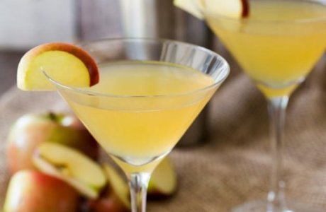Toffee Apple Martini