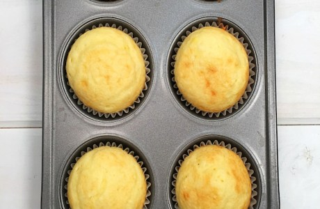 Recipe for 6 Cupcakes using a Cake Mix