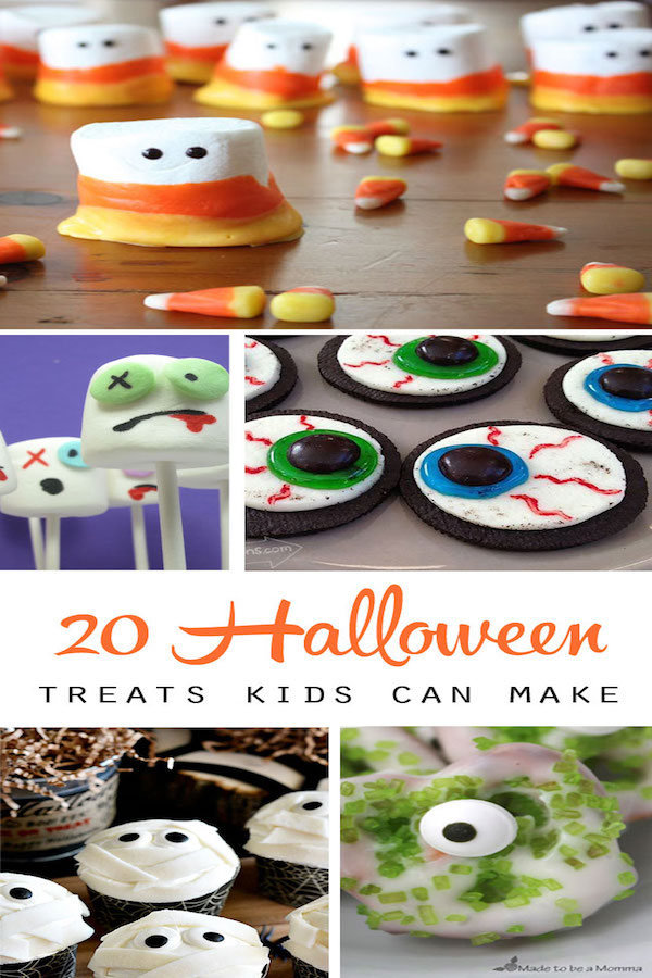 20 fun halloween treats to make with your kids edible crafts for Halloween treats to make with kids