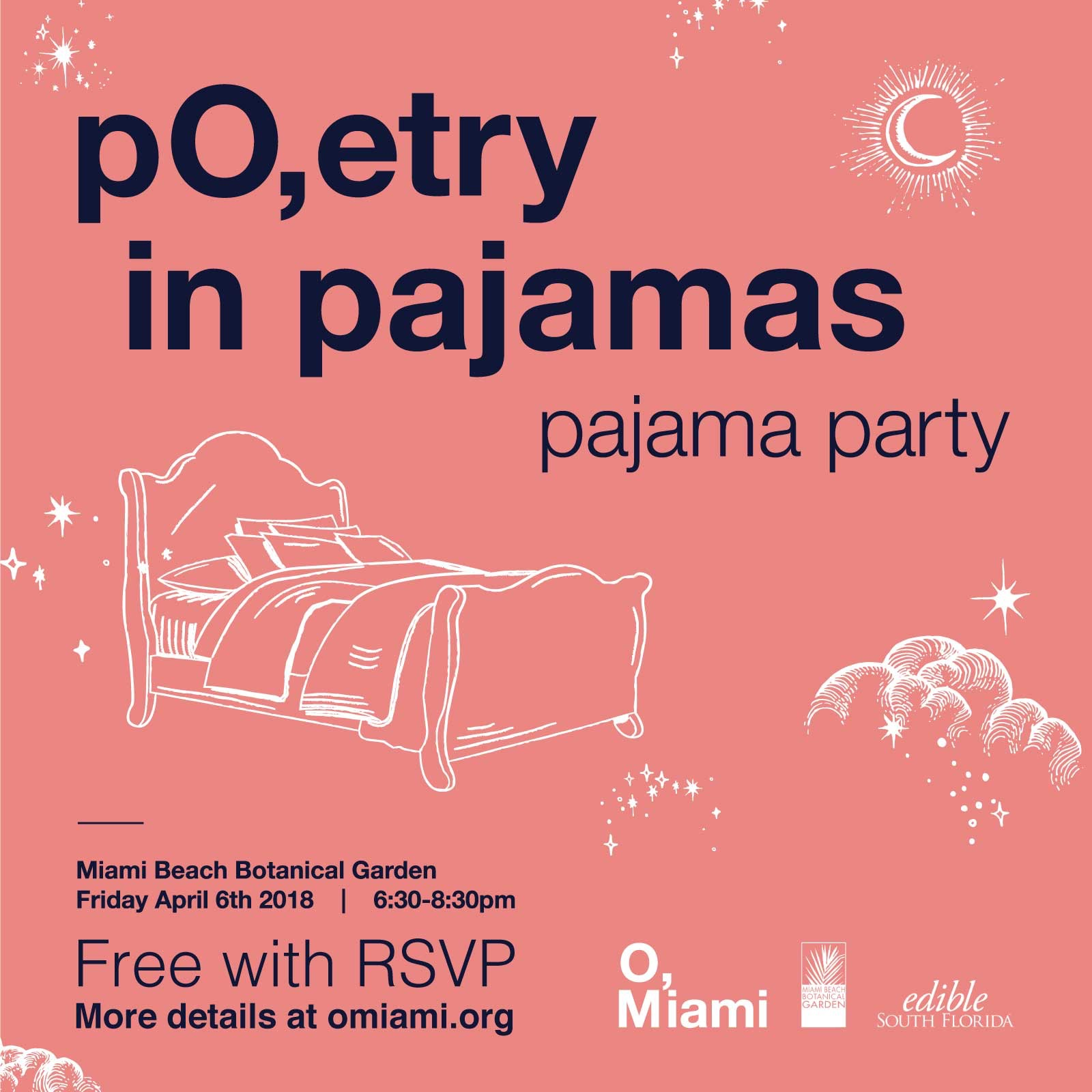 O Miami O Miami Poetry In Pajamas Edible South Florida