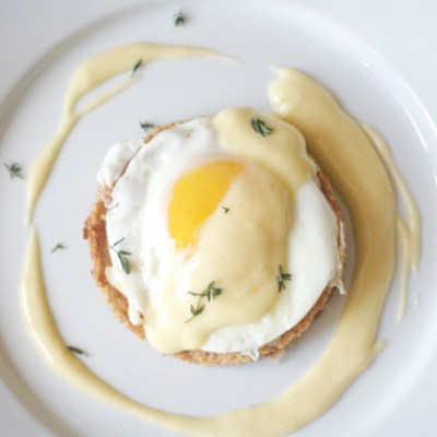 Perfect hollandaise sauce