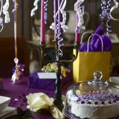 The art of the birthday table