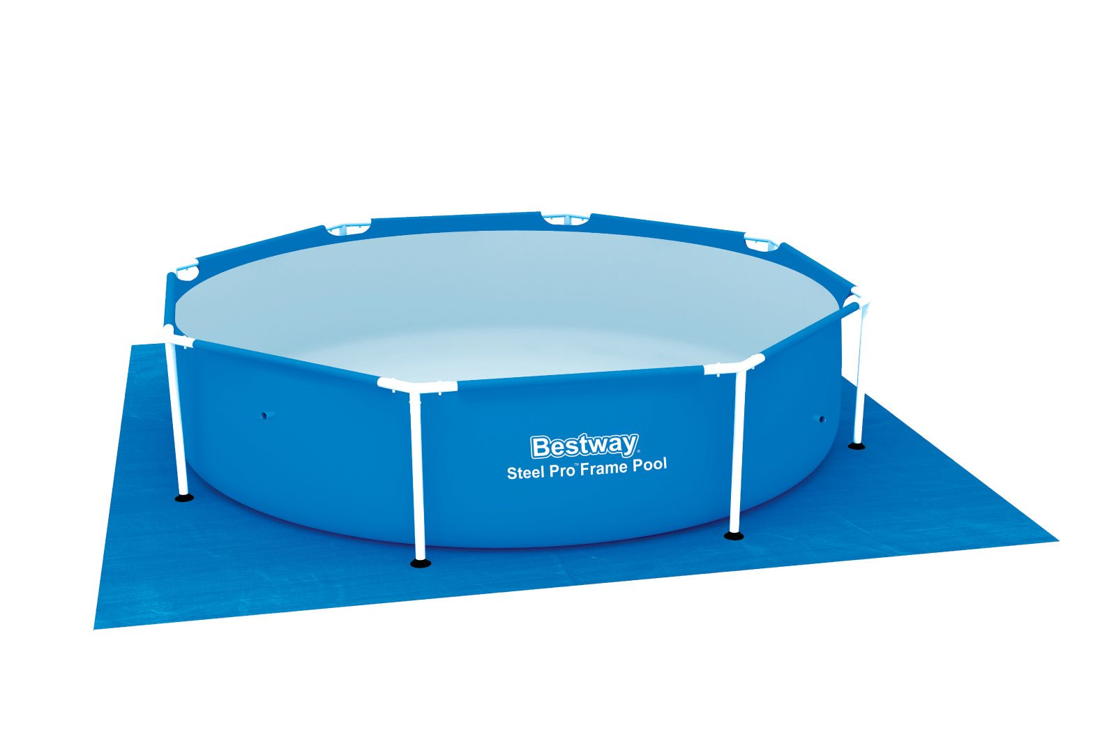 Frame Pool Bestway Bestway 58002 Carpet Background Square For Swimming Pool Cm 396x396