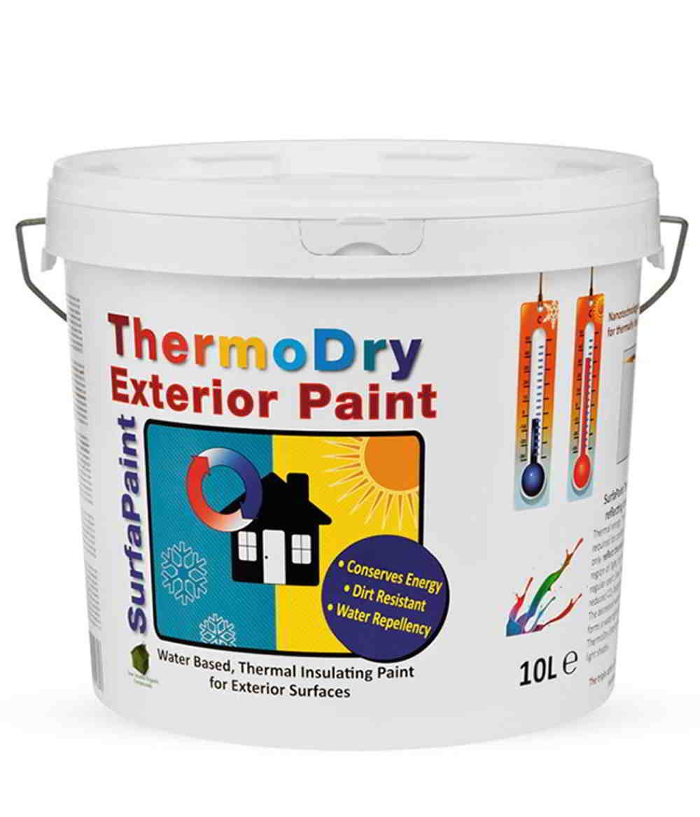 Pittura Termica Atria Surfapaint Thermodry Painting Heat To The Exterior Walls And Ceilings