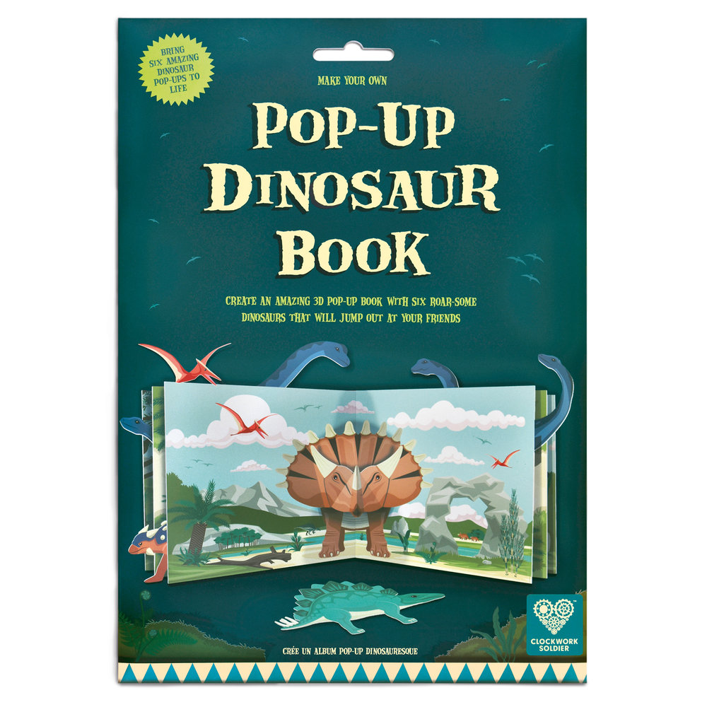 Pop Up Book Cover Make Your Own Pop Up Dinosaur Book