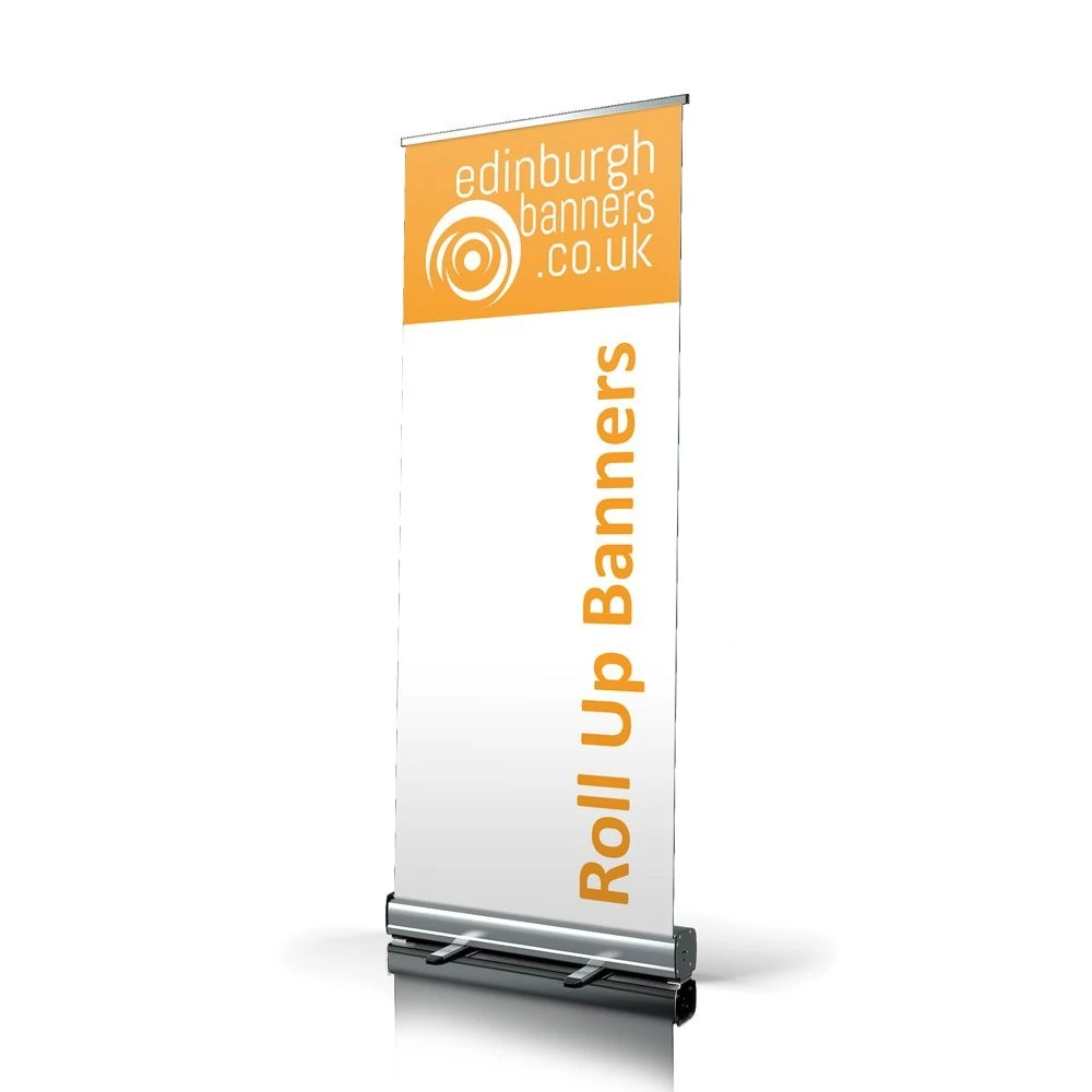 Roll Up Banner Verlichting Roll Up Banner Stand | Edinburgh Banners